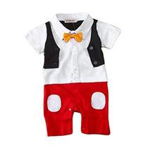 Stylesilove Bebé 3d Bowtie Mickey Inspirado Apoyo De La Foto