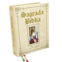Sagrada Biblia Dorada Edicion Juan Pablo Ll *letra Grange*