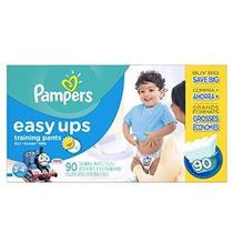 Pampers Easy Ups Pantalones De Niños Pañales Tamaño 3t4t 90