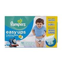 Pampers Easy Ups Training Pants Tamaño 6 (4t5t) Value Pack N