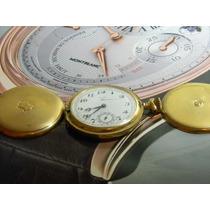 Reloj De Bolsillo Elgin Chapa Rm4