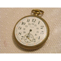 Reloj Elgin De Bolsillo Chapa Oro Rm4