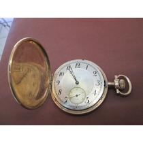 Reloj Bolsillo Antiguo Longines.oro Solido De 14 K.