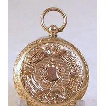 Reloj De Bolsillo. Oro 14k. Tipo Lepine. Omm