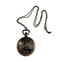 Death Note L Reloj De Bolsillo Importado Grande 4.5cm Kira