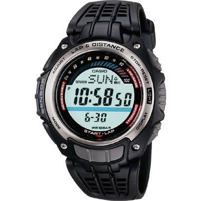Reloj Casio Sgw-200 Conteo Calorias Podometro 100m 5 Alarmas
