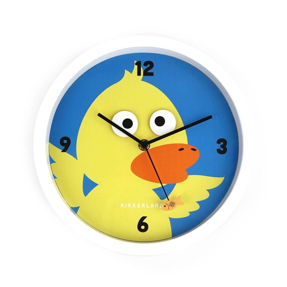 Reloj de pared pato loco se mueven los ojos dise o - Relojes de pared diseno ...