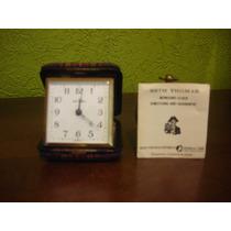 Antiguo Reloj Despertador Alemán Seth Thomas Años 50´s