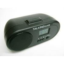 2 Reloj Despertador Digital, Parlante Sonido Gallo Pm0
