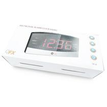 Reloj Despertador Qfx Numeros Gigantes Am/fm Snooze Aux