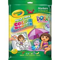 Crayola Color Wonder Marcadores Y Colorear Pad - Dora La Exp