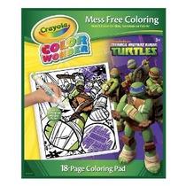 Crayola Color Wonder Colorear Pad Teenage Mutant Ninja Turtl