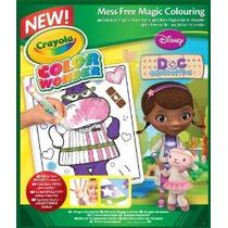 Crayola Color Wonder Colorear Pad Doc - Doctora Juguetes