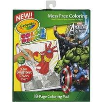 Crayola Colores Wonder Colorear Pad Vengadores
