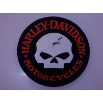 Relojes De Pared Decorativos Harley-davidson