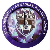 Reloj De Pared Publicitario 31 Cm Mexico Lujo Vidrio Yokadi