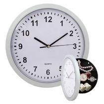 Reloj De Pared Caja Seguridad Con Compartimientos Camuflaje