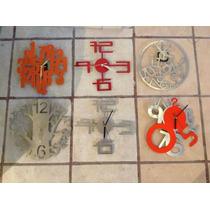 Relojes Minimalistas De Pared Con Diseños Modernos