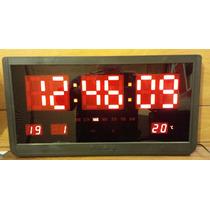 Reloj Led Digital Para Pared Gigante