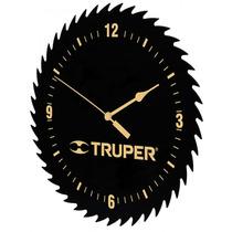 Reloj De Pared Con Forma De Hoja De Sierra Truper 60073