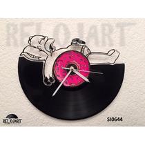 Original Reloj De Pared En Disco De Vinil - Homero Simpson
