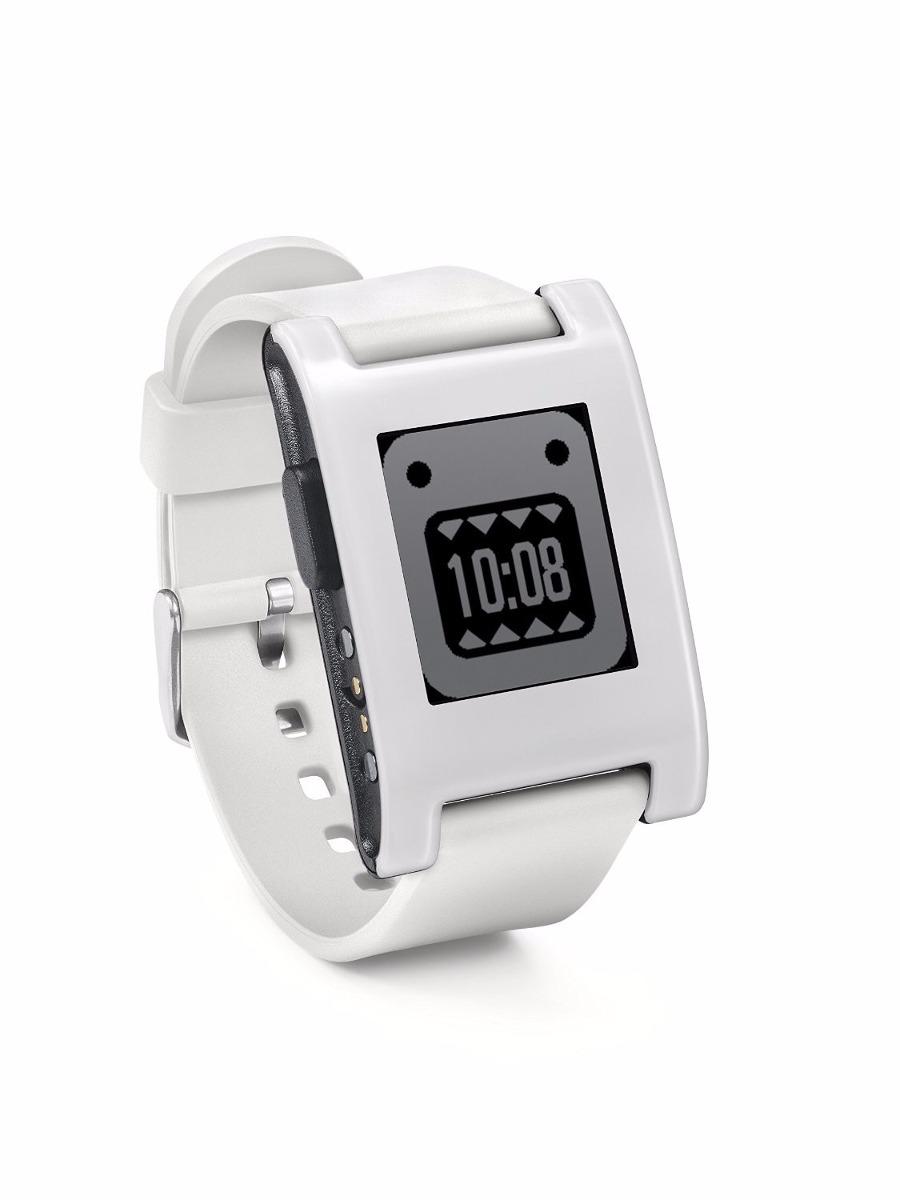 Reloj Pebble Smartwatch Para Iphone Y Android (blanco ...