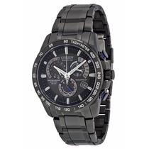 Reloj Citizen Eco-drive Cronógrafo Acero Negro At4007-54e