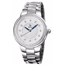 Reloj Bulova Rosedale Diamond Case Mujer Blanca 96r168