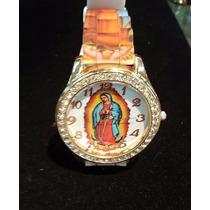 Reloj Con Imagen De La Virgen De Guadalupe