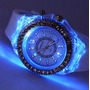 Reloj Diamond Led Lujo Digital Binario Moderno Luz Diamante