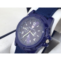Reloj 100% Original Marca Gemius Army,extensible Nylon , Hm4