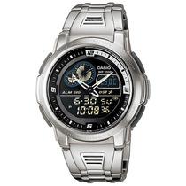Casio Aqf102 Metal - Termómetro - 50 Memorias - 100m - Cfmx