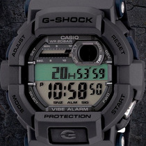 Casio G Shock Gd350 / Alarma Vibratoria / Led / 200 M