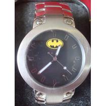 Batman Reloj Acero Fossil Hombre Dc Warner Comics Superman
