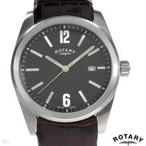 Reloj Rotary Manufactura Suiza, Para Hombre, En Piel Mn4
