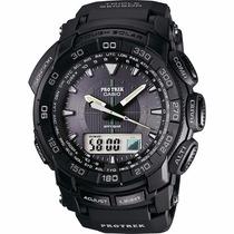 Reloj Casio Protrek Prg550 - Altímetro - Barómetro - Cfmx