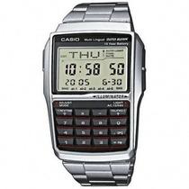 Reloj Casio Retro Databank Dbc 32 Metal - Calculadora Pr157