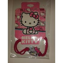 Pulsera Brazalete Hello Kitty Cara Brillante Y Plástico!