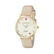 Reloj Kate Spade New York Beige Femenino