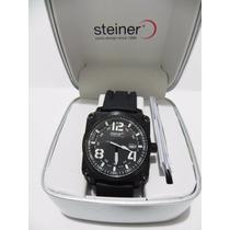 Mca. Steiner Reloj Para Caballero Deportivo Original Y Nuevo