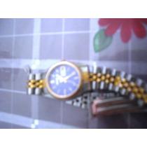 Reloj Dama Seiko Tipo Rolex Oro Y Acero Oferta