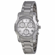 Reloj Bulova Wintermoor Mujer Acero Inoxidable Blanco 96r138