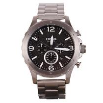 Reloj Fossil Jr1468 Nate-crono Acero Inoxidable Caballero