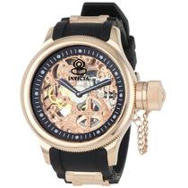 Reloj Invicta Russian Diver Mecanico Skeleton, Caucho 1090