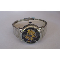 Preciosisimo Reloj Skeleton Automatico Original Para Dama