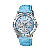 Reloj Casio Dama Ltp-2084l-2bvdf Analogico 100% Original