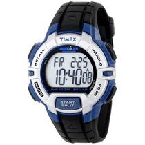 Reloj Timex Ironman T5k791 Azul Con Negro