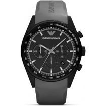 Reloj Emporio Armani Sportivo Silicon Negro Ar5978 Garantia