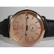 Elegante Reloj Omega , Piel, Cuarzo, Hm4