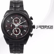 Reloj J Springs Cronografo Acero Pavonado Marine 2